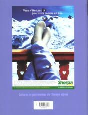 L'ALPE N.15 ; à table - 4ème de couverture - Format classique