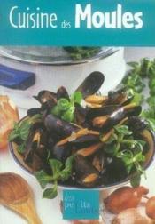 Cuisine des moules - Couverture - Format classique