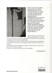 Bercy - 4ème de couverture - Format classique