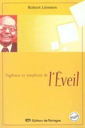 Vigilance Et Simplicite De L'Eveil - Intérieur - Format classique