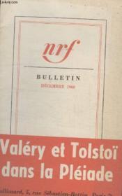 Bulletin Decembre 1960 N°155. - Couverture - Format classique