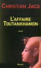 L'affaire Toutankhamon - Intérieur - Format classique