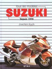 Tous les modèles Suzuki. depuis 1970 - Intérieur - Format classique