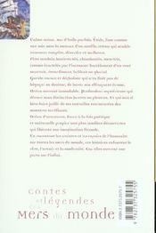 Contes et legendes des mers du monde - 4ème de couverture - Format classique