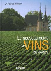 Le nouveau guide des vins de France - Intérieur - Format classique