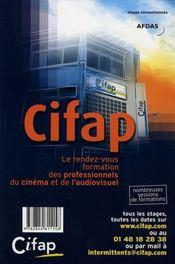 La grammaire de l'audiovisuel - 4ème de couverture - Format classique