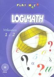 Logimath 1 / 2 - Couverture - Format classique