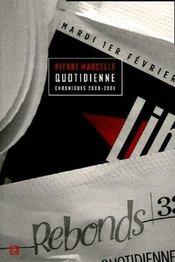 Quotidienne chroniques 2000-2001 - Intérieur - Format classique