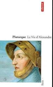 La Vie D'Alexandre - Couverture - Format classique