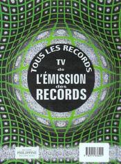 Livre Guinness Des Records 02 - 4ème de couverture - Format classique
