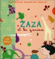 Zaza et les zanimos - Couverture - Format classique