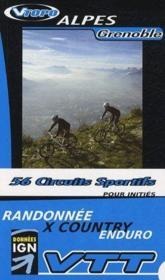 **Alpes Grenoble Pour Inities 56 Circuits Sportifs - Couverture - Format classique