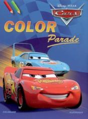 Disney color parade cars - Couverture - Format classique