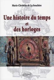 Une histoire du temps et des horloges - Intérieur - Format classique