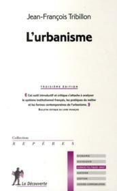 L'urbanisme (3e édition) - Couverture - Format classique