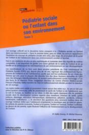 Pédiatrie sociale (2e édition) - 4ème de couverture - Format classique