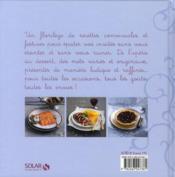 Fêtes gourmandes - 4ème de couverture - Format classique