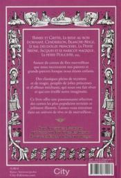 Les plus beaux contes de fées de mon enfance - 4ème de couverture - Format classique