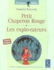 Le petit chaperon rouge ; les explo-rateurs - Intérieur - Format classique