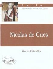 Nicolas De Cues Philo - Intérieur - Format classique