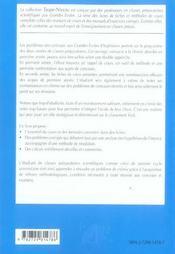 Chimie Fiches Methodes Et Exercices Corriges 1re Annee Mpsi-Ptsi-Tsi - 4ème de couverture - Format classique