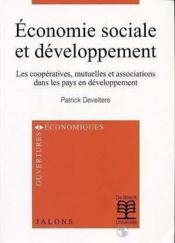 Economie sociale et developpement eco.soc.des coop., mutu.& assoc.dans pvd - Couverture - Format classique