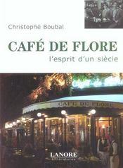 Cafe De Flore L'Esprit D'Un Siecle - Intérieur - Format classique