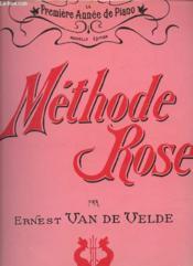 Methode Rose La Premiere Annee De Piano - Couverture - Format classique