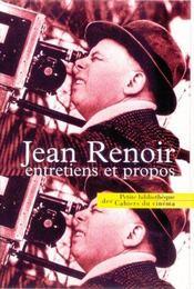 Jean Renoir, entretiens et propos - Intérieur - Format classique
