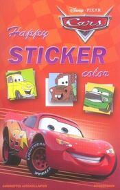Disney happy sticker color cars - Intérieur - Format classique