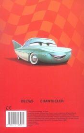 Disney happy sticker color cars - 4ème de couverture - Format classique