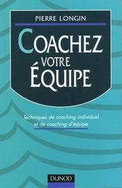 Coachez Votre Equipe - Intérieur - Format classique