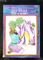 Livre Disque. Ali Baba Et Les 40 Voleurs. - Couverture - Format classique