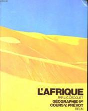 L'Afrique - Couverture - Format classique