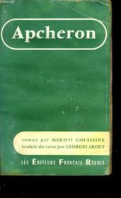 Apcheron - Couverture - Format classique