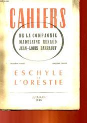 Eschyle Et L'Orestie - 3° Annee - 11° Annee - Couverture - Format classique