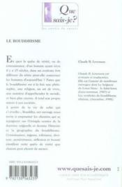 Le bouddhisme (2e édition) - Couverture - Format classique