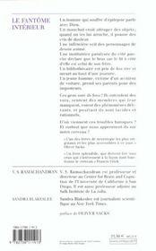 Le Fantome Interieur - 4ème de couverture - Format classique
