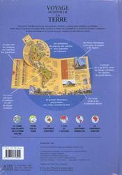 Voyage autour de la Terre ; un atlas en relief - 4ème de couverture - Format classique