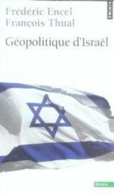 Géopolitique d'israel - Couverture - Format classique