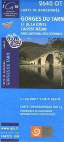 Gorges du Tarn et de la Jonte ; causse Méjan ; parc national des cévennes - Intérieur - Format classique