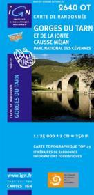 Gorges du Tarn et de la Jonte ; causse Méjan ; parc national des cévennes ; 2640 OT - Couverture - Format classique