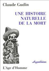 Une histoire naturelle de la mort - Couverture - Format classique