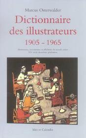Dictionnaire Des Illustrateurs 1905-1965 - Intérieur - Format classique