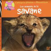 Les animaux de la savane - Couverture - Format classique