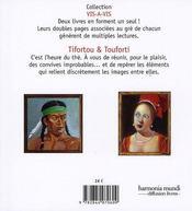 Tifortou et Touforti - 4ème de couverture - Format classique