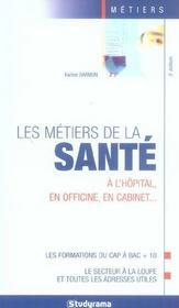 Metiers de la sante 5e edition (4e édition) - Intérieur - Format classique