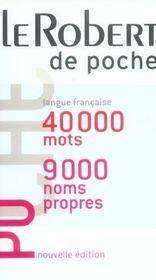 Le robert de poche (édition 2006) - Intérieur - Format classique