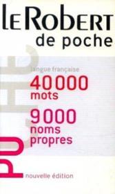 Le robert de poche (édition 2006) - Couverture - Format classique
