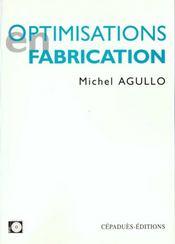 Optimisations en fabrication - Intérieur - Format classique